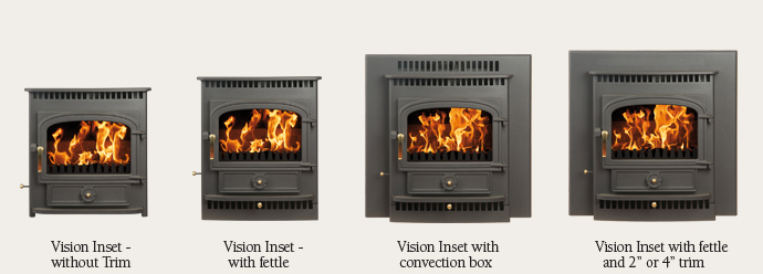 Vision Inset Clearview Stoves